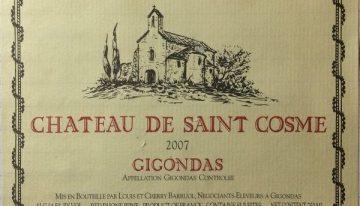 650. Château de Saint-Cosme, Gigondas, 2007