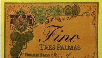 653. Gonzalez-Byass, Tres Palmas Fino Sherry, NV (2012)
