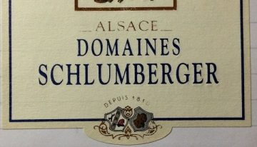 654. Domaines Schlumberger, Riesling Grand Cru Saering Alsace, 2007