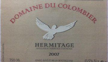 655. Domaine du Colombier, Hermitage Blanc, 2007