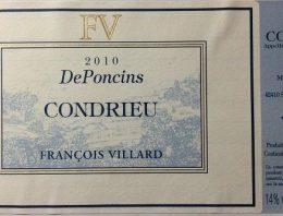 666. François Villard, Condrieu DePoncins, 2010