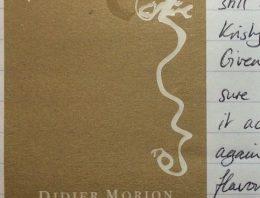 697. Didier Morion, Condrieu Vent d'Anges, 2010
