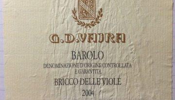 702. G. D. Vajra, Barolo Bricco delle Viole, 2004