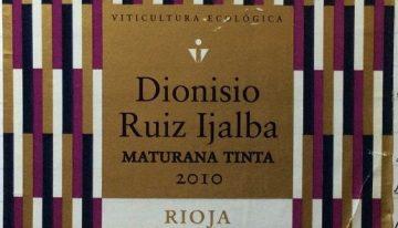 706. Viña Ijalba, Dionisio Ruiz Ijalba Maturana Tinta Rioja, 2010