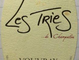 709. Didier Champalou, Les Tries de Champalou Vouvray, 2009