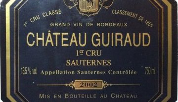 710. Château Guiraud, 1er Grand Cru Classé Sauternes, 2002
