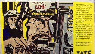 721. BrewDog, Tate Roy Lichtenstein Torpedo…LOS! American Pale Ale, NV (2013)