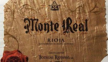 738. Bodegas Riojanas, Monte Real Rioja Gran Reserva, 2001