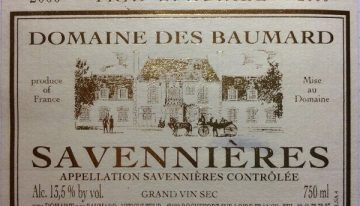 741. Domaine des Baumard, Savennières Trie Spéciale, 2000