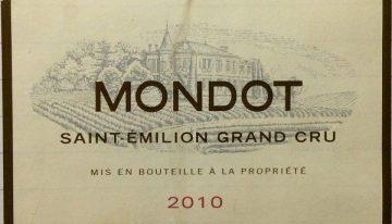 742. Château Troplong-Mondot, Mondot Saint-Émilion Grand Cru, 2010