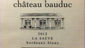 743. Château Bauduc, La Sauve Sauvignon Blanc Bordeaux Blanc, 2012