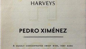 744. Harvey's, Pedro Ximénez Sherry VORS, NV (2013)