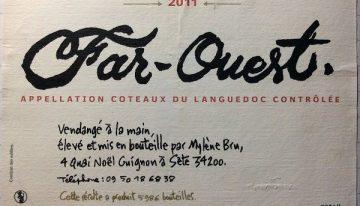 753. Mylène Bru, Far-Ouest Coteaux du Languedoc, 2011