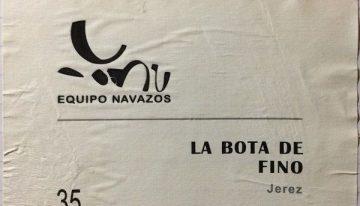 754. Equipo Navazos, La Bota de Fino No. 35 Macharnudo Alto Jerez, NV (2013)