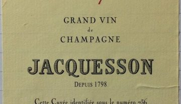 756. Champagne Jacquesson, Cuvée 736 Extra Brut, NV (2013)