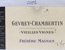 804. Frédéric Magnien, Gevrey-Chambertin Vieilles Vignes, 2011