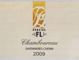 860. Domaine FL, Chamboureau Savennières-Chenin, 2009