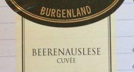 879. Weinlaubenhof Kracher, Beerenauslese Cuvée Burgenland, 2011