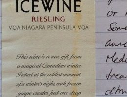 880. Peller Estates, Riesling Ice Wine Niagara Peninsula, 2011