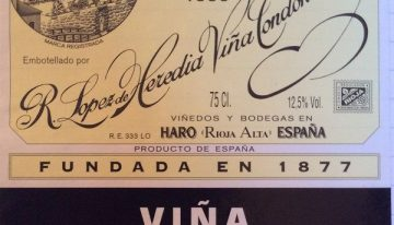927. Lopez de Heredia-Viña Tondonia, Viña Tondonia Blanco Rioja Reserva, 1999