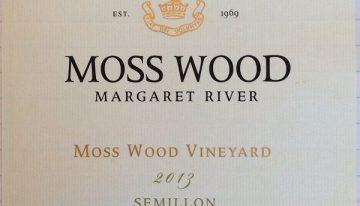 930. Moss Wood, Moss Wood Vineyard Semillon Margaret River Western Australia, 2013