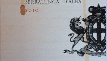931. Giovanni Rosso, Barolo del Comune di Serralunga d'Alba, 2010
