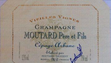 935. Champagne Moutard, Cépage Arbane Vieilles Vignes, 2006
