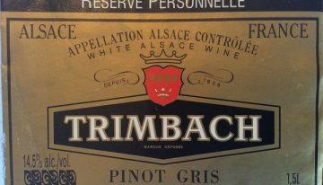 940. Trimbach, Pinot Gris Réserve Personelle Alsace, 2007