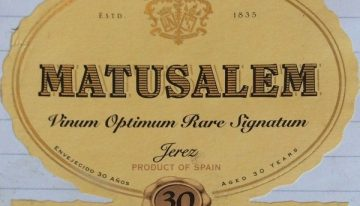 944. Gonzalez Byass, Matusalem Cream Sherry VORS, NV (2015)