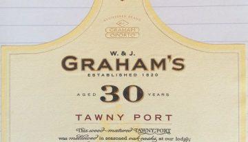 950. W & J Graham & Co, 30 Year Old Tawny Port, NV (2010)