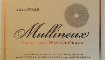 951. Mullineux, Syrah Swartland, 2011